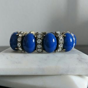 J.Crew Stretchy Blue Bracelet